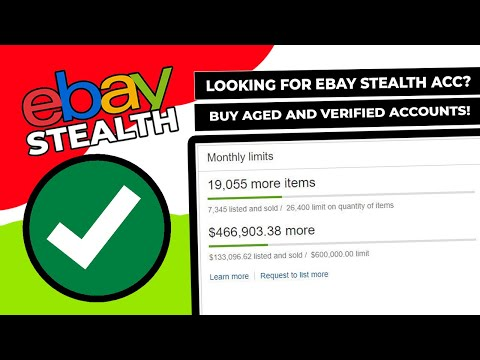 established eBay Accounts, Top Rated, High Feedbacks, Unlimited For Sale