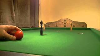 Bar Billiards 'Break' Demonstration on a Jelkes Table