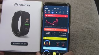 Fomo Fit fitness tracker review