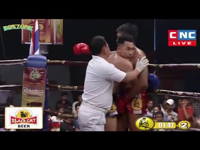 Prum Somnang vs Phetarun(thai) CNC Boxing 29 April 2018