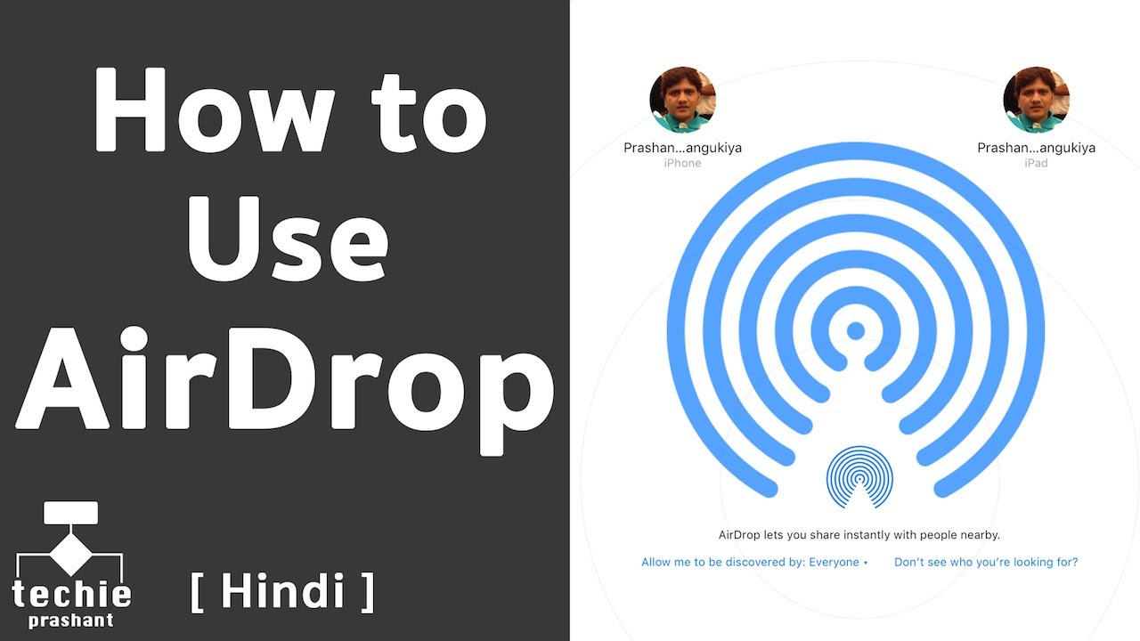 How To Use Airdrop In Iphone, Ipad, And Imac [hindi]