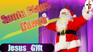 Santa Claus Dance Video on Christmas Day in India Harvest Church