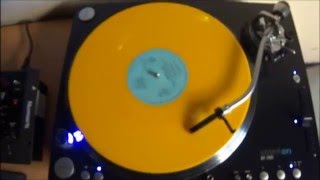 Depeche Mode - Behind The Wheel (Beatmasters Mix) Yellow Vinyl