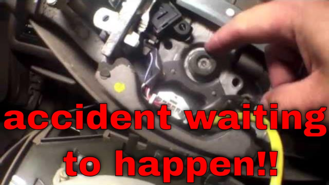 Ford Fusion Passenger Side Fuse Box Tighten That Loose Steering Wheel Toyota Camry Youtube