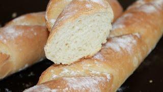 видео Хлеб французский с сыром
