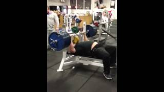 Eddie Hall 260kg Bench Raw