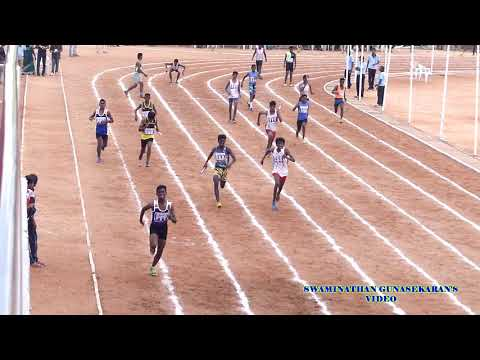 BOYS U17  4X100m  RELAY  FINAL. 60Th TAMIL NADU STATE REPUBLIC DAY SPORTS MEET  - 2017-18