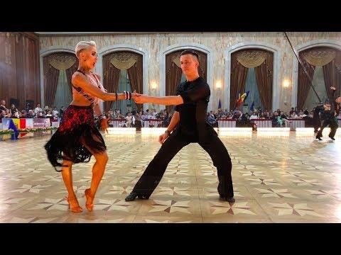 Dominykas Dauksas - Svetlana Azarova LTU   WDSF World Open Latin - Samba