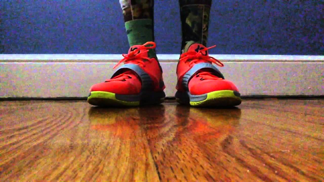new products 90e4d a4989 Kd 7 35,000 Dmv   Kobe 9 Easter EM on feet review - YouTube