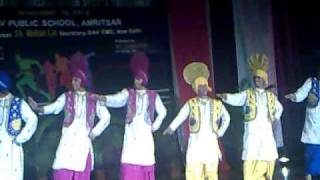 BHANGRA DAV Public School Amritsar National Level Guest Performance (New Video ).mp4