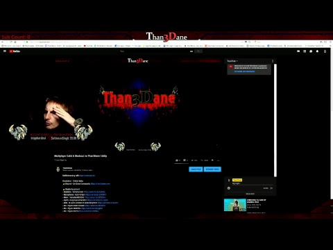 Multiplayer CoD4 & Blackout /w Than3Dane 1440p