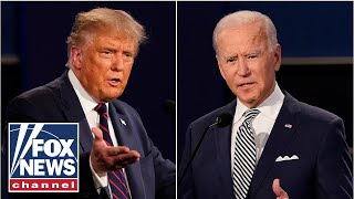 Trump, Biden to hit the campaign trail after the final presidential debate