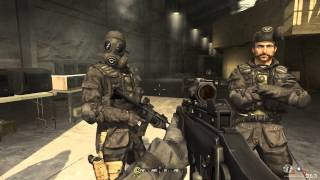 Call of Duty 4 Modern Warfare Walkthrough Part 1 - Level 1(The new action-thriller from the award-winning team at Infinity Ward, the creators of the Call of Duty® series, delivers the most intense and cinematic action ..., 2013-01-12T14:53:34.000Z)