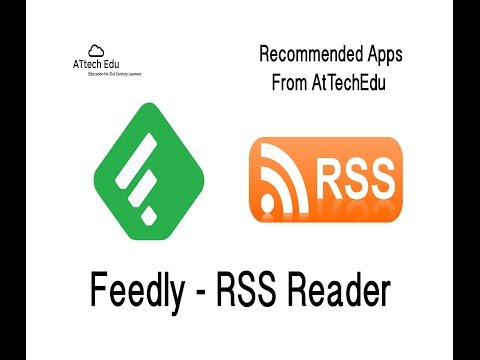RSS Readers - Tutorial Setting up Feedly - Adding RSS feeds to Feedly