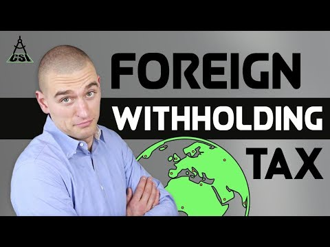 Foreign Withholding Tax
