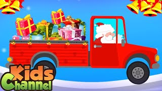Santa Gift's Truck   Merry Christmas Song   Jingle Bells   Song for Children - Kids Channel