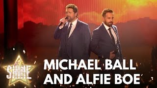 Michael Ball Alfie Boe perform a medley of songs
