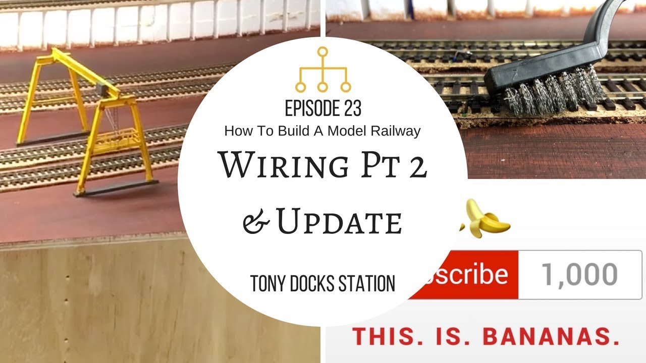 How To Build A Model Railway Episode 23 Wiring Part 2 Youtube