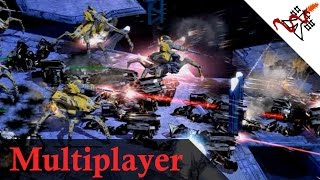 Supreme Commander 2 - 4v4 Massive UNBREAKABLE Land Defense | Multiplayer Gameplay