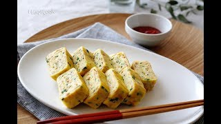 Rolled omelet with tuna(참치달걀말이)_Koreanfood recipe(영어자막)ENG ver.