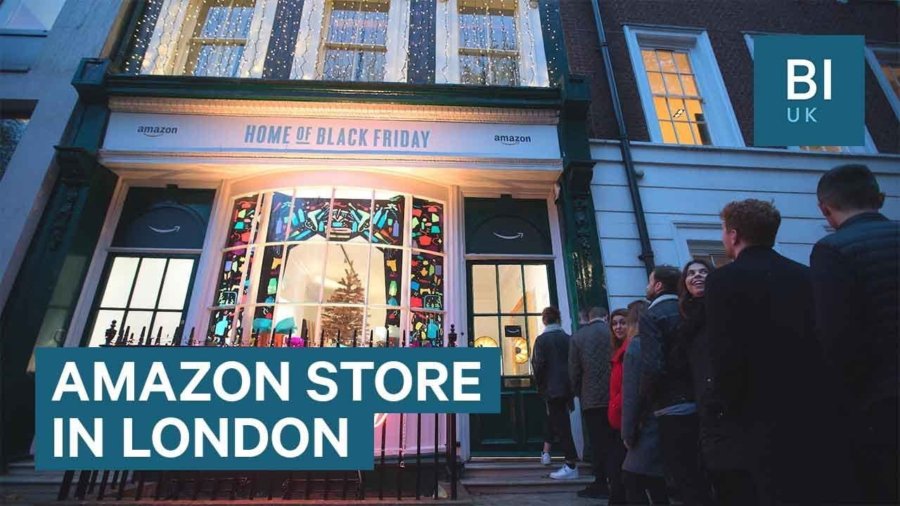 Amazon Opened A Black Friday Popup In London Youtube