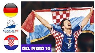 Germany vs Croatia 0 3 World Cup 1998 Quarter Final All Goals and Highlights