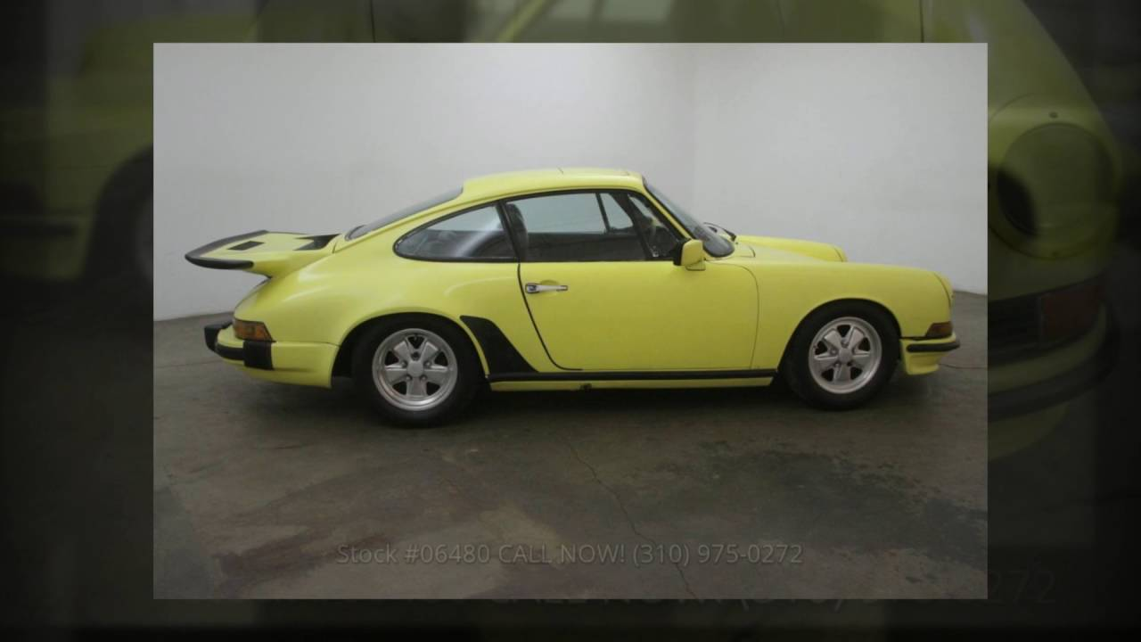1968 Porsche 911 Sunroof Coupe | Beverly Hills Car Club