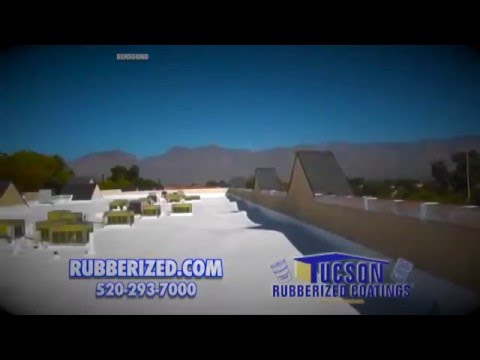 How to Coat Your Roof with Tucson Rubberized Coatings