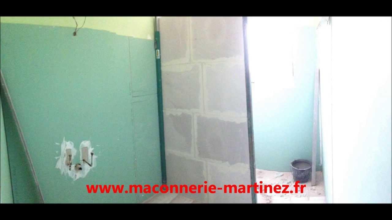 Comment monter une cloison en siporex www.maconnerie-martinez.fr