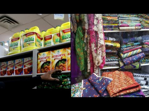 African Market In USA (New Jersey)  (Ng Vlog 04)