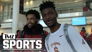 USC Basketball -- Rams Shouldn't Come to L.A. ...They're Gonna Take Our Chicks! | TMZ Sports