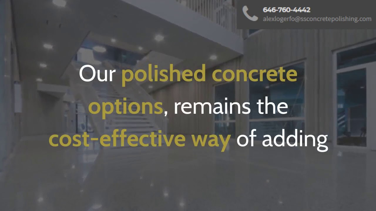 Epoxy Floor Coating Contractors Near Me | ssconcretepolishing com | call  646-760-4442