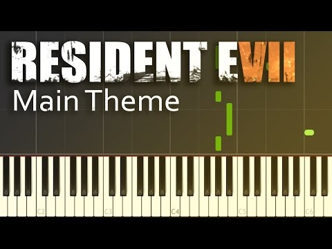Resident Evil 7 - Go Tell Aunt Rhody - Piano Tutorial by Firefly Piano - Synthesia