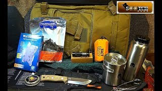 72 Hour Bug Out Bag  Battlbox Mission 34 Field Test