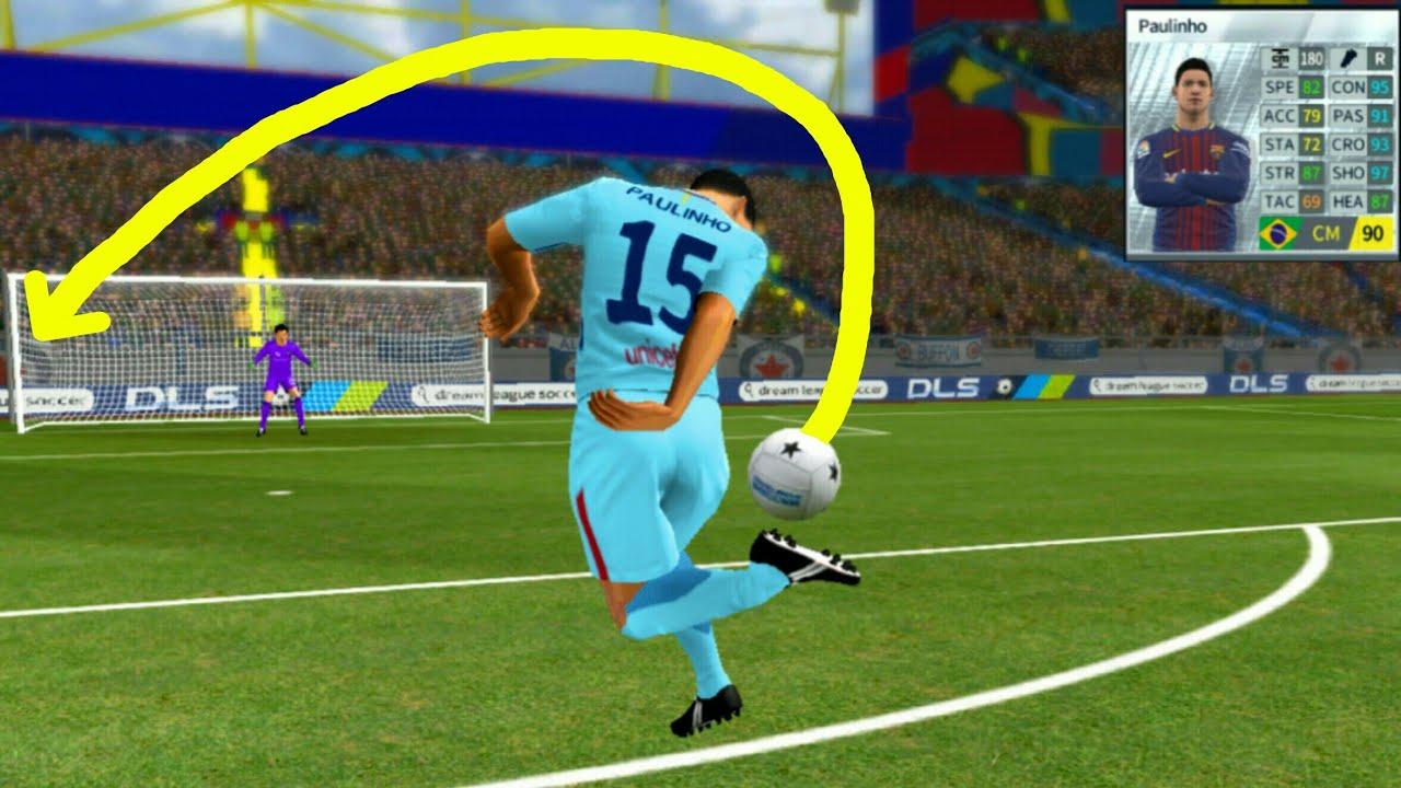 44c2dcb3037 Paulinho ○ Rainbow Flicks Goals ○ Dream League Soccer 2018 - YouTube