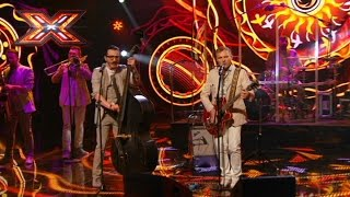 Группа The Hypnotunez и Олег Скрипка - Країна мрій. Х-фактор 7. Четвертый прямой эфир