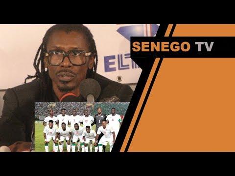 Alioune Cissé y'a pas de risque sur la liste des 23 joueurs