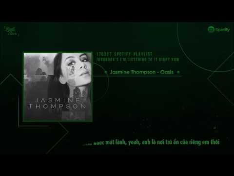 [Vietsub+Kara] 170327 Spotify Playlist Jungkook | Oasis (Jasmine Thompson)