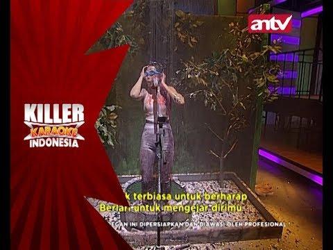 Gawat! Anisa kena semprot sama Danang! - Killer Karaoke Indonesia
