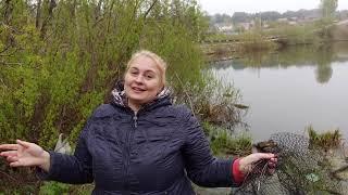 Открыли сезон жидкой воды 2021 Рыбалка на Трубачевском озере в Томске На что клюет карась весной