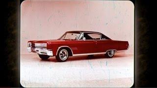 1968 Chrysler Vehicle Line Up Sales Features - Dealer Promo Film