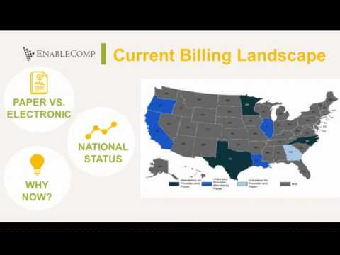 Tennessee Work Comp e-Billing Webinar: Guidance for the Proposed Mandate in 2018