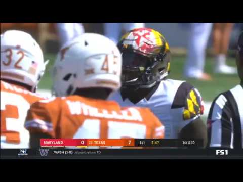 2017 - Game 1 - #23 Texas vs. Maryland
