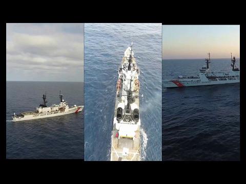 Winter JIATF-S Patrol, USCGC SHERMAN (WHEC 720)