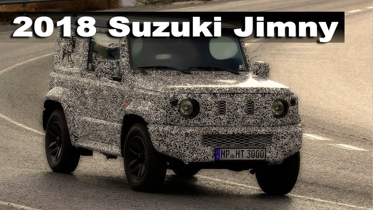 the new 2018 suzuki jimny looks like baby gelandewagen youtube. Black Bedroom Furniture Sets. Home Design Ideas