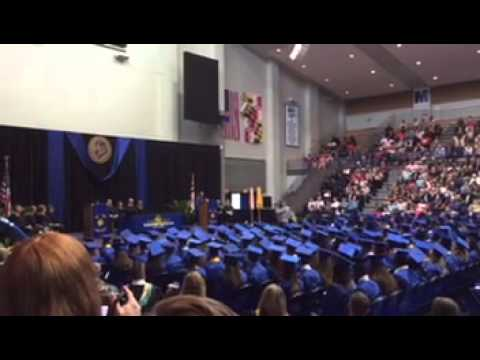 "Walkersville High School Class of 2015. Emily sings ""Don't forget to remember me"" Car"