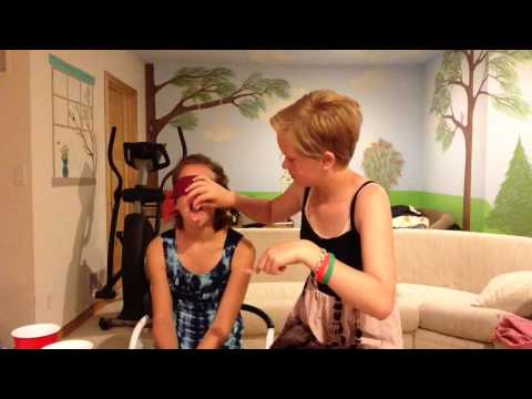 What's In My Mouth Challenge  Olivia And Elicia Stern