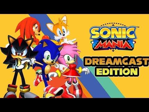 Sonic Mania Mod - Dreamcast Edition(4.0)