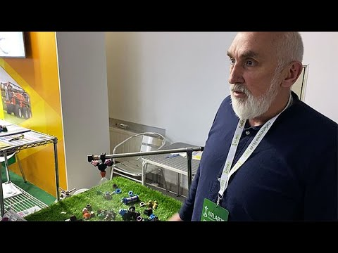 Компанія «АгроМодуль» на NTLAB 2020 представила розпилювачі РОса власного виробництва.