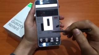 Samsung Galaxy Note5 Kalem Özelliklerini İnceledik